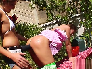 lesbian, hd, outdoor, straight, strapon, toys