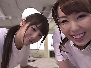 blowjob, big tits, japanese, jav censored, jav uncensored, nurse