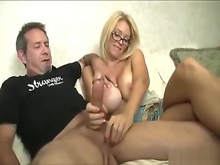 handjob, blonde, masturbation, pornstars, big tits, straight