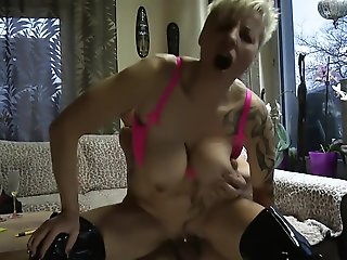 cunnilingus, blonde, big tits, straight, german, fisting
