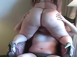big ass, bbw, big tits, face sitting, straight,