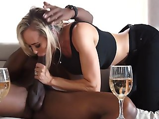 blowjob, blond, facial, hd, interracial, milf