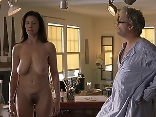 celebrity, brunette, mature, milf, cougar, big natural tits
