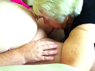 blowjob, amateur, bbw, old & young, granny, cum in mouth